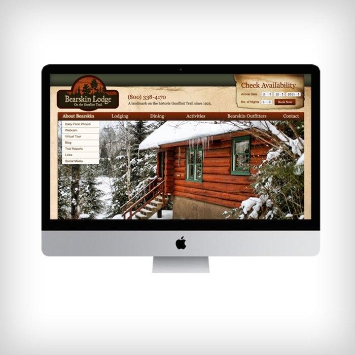 Bearskin Website