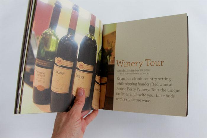 Buffalo Roundup Winery Tour spread