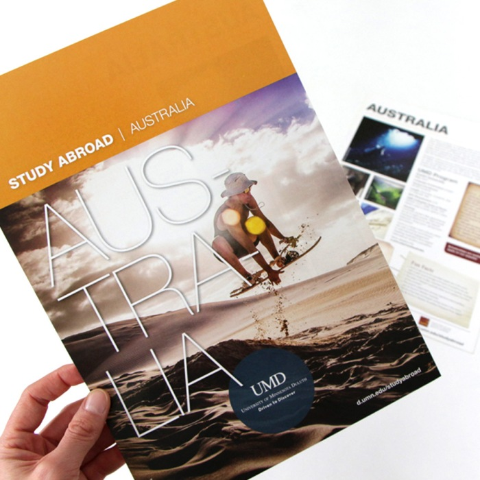 Study Abroad Brochure - collateral